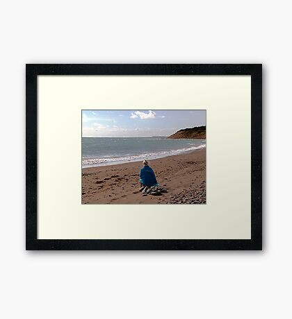 Ocean Dreaming No. 1 Framed Print