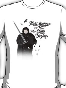 Game of Quotes- Jon T-Shirt