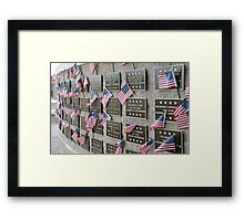 In Memory... Framed Print