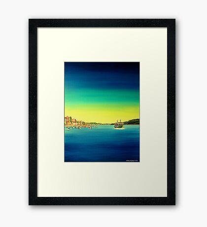 Manly ferry Framed Print