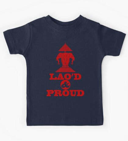 LAO'D & PROUD Kids Tee