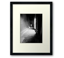 Sweeping the Holy Ground Framed Print