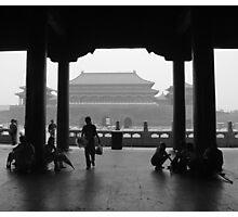 Forbidden Tourists Photographic Print