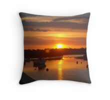 Tooradin foreshore Throw Pillow
