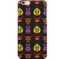 Five Nights at Freddy's 1 - Pixel art - The Classic 4 iPhone Case/Skin