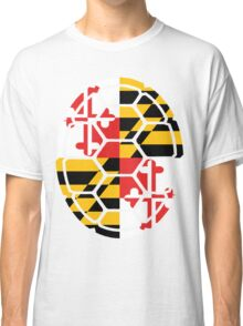 Maryland Flag Shell Classic T-Shirt