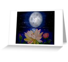 Light Falls on Water and Purity Greeting Card