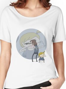 The Walking Dead Daryl and Asskicker Women's Relaxed Fit T-Shirt