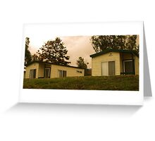 photoj S.A. Mannum Caravan Park Greeting Card