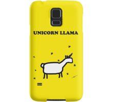Unicorn LLama Samsung Galaxy Case/Skin