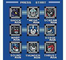 Transformers Megaman Style Design (Decepticon) Photographic Print