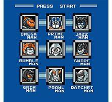 Transformers Megaman Style Design (Autobot) Photographic Print