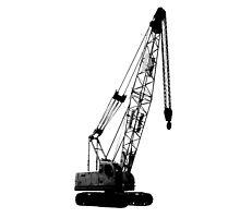 black crane by tinncity