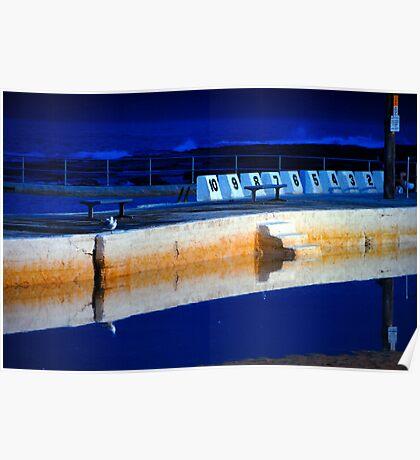 Sunrise - Merewether Baths Poster
