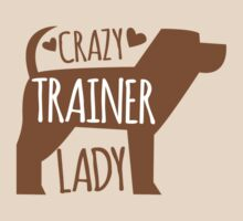 Crazy Trainer Lady by jazzydevil
