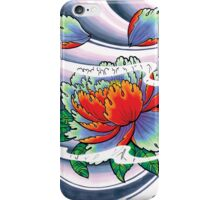 japanese peoni iPhone Case/Skin