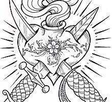 dagger heart by Aaron Prosser