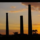 Silloutes of Smoke Stacks by Missy777