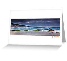 South West Coast Line II Greeting Card