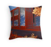 Sky Windows Throw Pillow