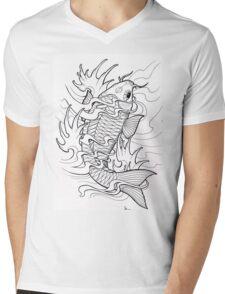 fishie Mens V-Neck T-Shirt