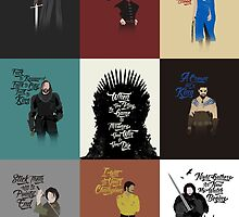 Game of Quotes- Series 1 by spacemonkeydr