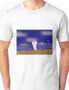 night  the beach Unisex T-Shirt