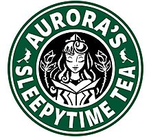 Aurora's Sleepytime Tea Photographic Print