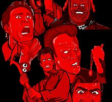multiple Ash evil dead army of darkness collage by gjnilespop