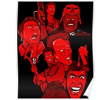 multiple Ash evil dead army of darkness collage Poster