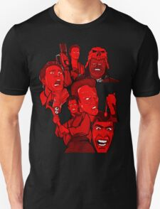multiple Ash evil dead army of darkness collage T-Shirt