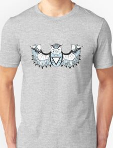 Vector Aztec Owl Design T-Shirt