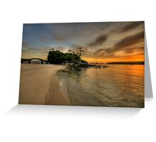 Balmoral Dreaming - Balmoral Beach - The HDR Series Greeting Card