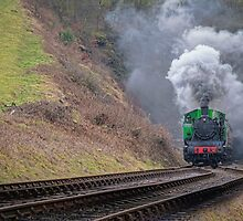 Steam Train by alan tunnicliffe