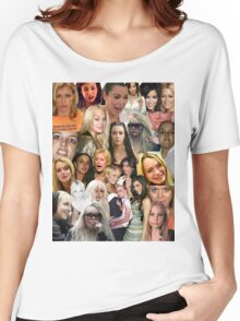 Famous Failures Collage Women's Relaxed Fit T-Shirt