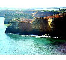*Treacherous Coastline of Vic. Australia* Photographic Print