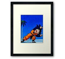 Goten part Fusion!  Framed Print