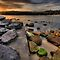 On The Rocks - Balmoral Beach - The HDR Series by Philip Johnson