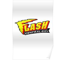 Central City Flash (Sports Team Emblem) Poster