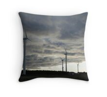 Windmill Farm, Prince Edward Island Throw Pillow