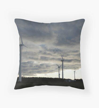 Windmill Farm, Prince Edward Island Throw Pillow