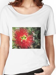 Bottle brush flower Women's Relaxed Fit T-Shirt