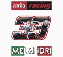 MARCO MELANDRI 33 APRILIA by herlin
