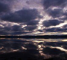 Cromarty Firth Sunset by Richard Hanley www.scotland-postcards.com