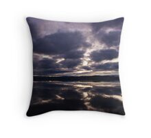 Cromarty Firth Sunset Throw Pillow
