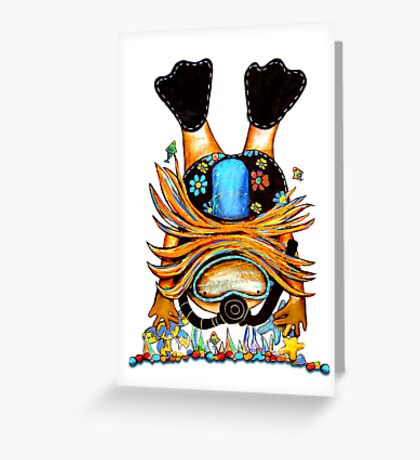 Scuba Diva Greeting Card