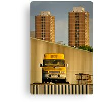 2012 London Olympic Pre-Demolition Yellow 2 Canvas Print