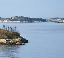 Shag Bay Nova Scotia by HighHeadArtwork