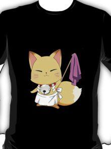 Foxy Housekeeper! - Black T-Shirt