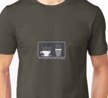 It's Coffee O'Clock 2 Unisex T-Shirt